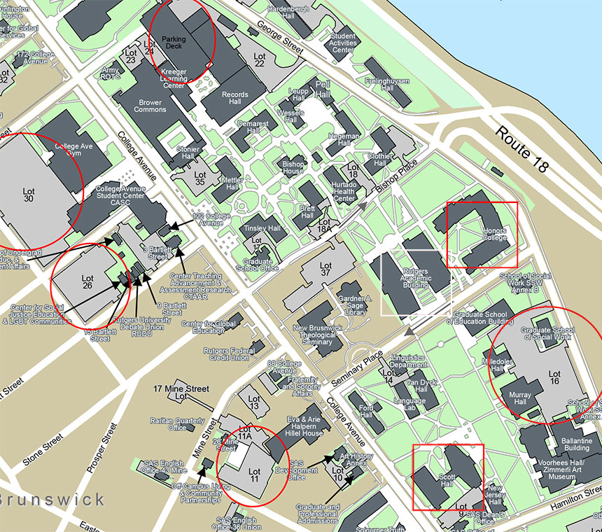 pinker parking event map small