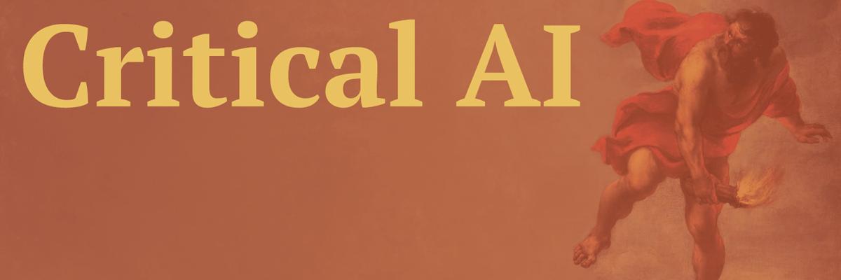 Critical AI
